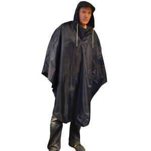 Oxford Waterproof Cycling Cape with Hood - One Size