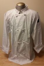 CHEF REVIVAL CREW JACKET COAT KNOT BUTTON LONG SLEEVE XL