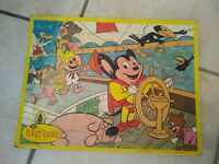 Vintage MIGHTY MOUSE Terry Toons by JAYMAR Children's Jigsaw Puzzle Cartoon