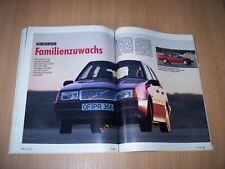 MOT 2536) Toller Wagen! Volvo 460 GL mit 102PS im TEST auf 5 Seiten