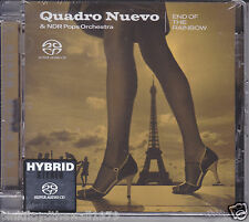 Quadro Nuevo NDR Pops Orchestra End of The Rainbow Audiophile Hybrid Stereo SACD