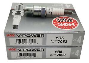 8 plugs NGK YR5/7052 V-Power Premium Power Spark Plugs (GMC, Pontiac)