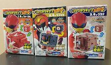 BANDAI Japan Doubutsu Sentai Zyuohger Cube Mini Candy Toy Set of 3 Power Rangers