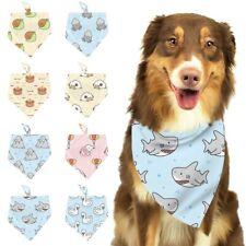 Pet Dog Bandana Collar Neckerchief Triangle Neck Scarf Saliva Towel Accessories