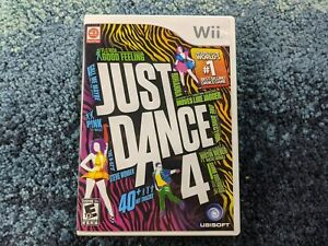 Just Dance 4 Wii Complete tested and working