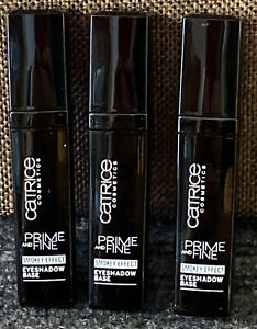LOT of 3  CATRICE Cosmetics Prime And Fine Smokey Effect Eyeshadow Base 010