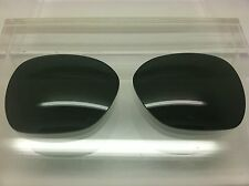 Oakley Overtime custom made replacement lenses Black polarized NEW!!