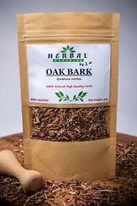 Oak Bark Dried Herb (Quercus robur cortex) Kora debu 50g