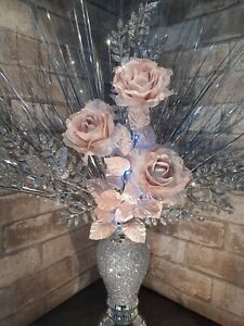 Buy Artificial Flower Arrangement Vases Ebay