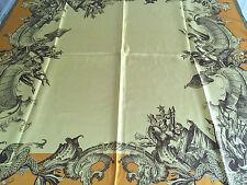 Foulard scarf Gianfranco Ferre' silk soie seta seda seida 100 %