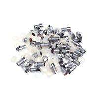 50 Sets 5mm LED Socket Assorted Kit Bezel Panel LED Diode Holder Gasket