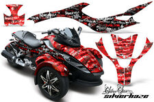 AMR Racing Can Am BRP RS Spyder Graphic Kit Wrap Roadster Sticker Decal SLVRHZ R