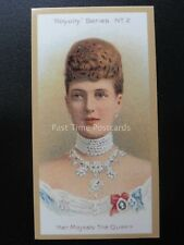 No.2 HER MAJESTY THE QUEEN - Royalty Series REPRO of Taddy 1903