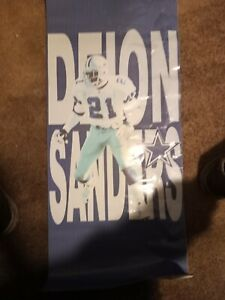 deion sanders dallas cowboys car tent only one made in the world handmade