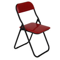 1:6 Scale Soldier Accessory Plastic Fold Chair for 12'' Action Figure