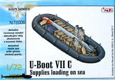 CMK 1/72 U-Boat Type VIIC Supplies Loading on Sea for Revell # N72006