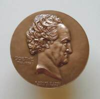 Germany German large bronze medal France Celebrates the centenary of GOETHE 1832