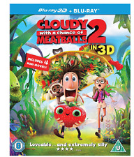 Cloudy With A Chance of Meatballs 2  (3D Blu-ray + 2D- 2 Disc Edition Blu-ray)