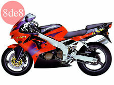 Kawasaki ZX-6R (1999-2000) - Workshop Manual on CD
