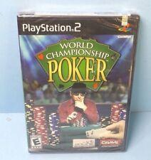 World Championship Poker (Sony PlayStation 2, 2004) Black Label NEW FACTORY SEAL