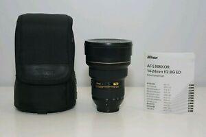 Nikon 14-24mm f/2.8 G AF-S ED Ultra-Wide Angle Lens