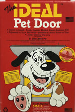 "The IDEAL Pet Door Small 5""x 8""Flap Size Doggie Cats NIB"