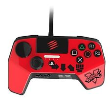 Mad Catz PS4/PS3 Street Fighter V FightPad PRO RED Japan import With Tracking
