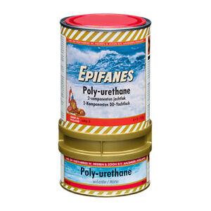 (66,65 EUR/kg) Epifanes Bootslack Poly-Urethane DD klar 2K mit UV-Filter - 750g