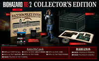 Resident Evil BIOHAZARD RE:2 Z Ver. COLLECTOR'S EDITION From Japan Tracking NEW