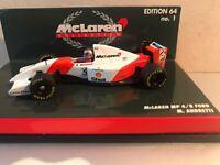 Minichamps McLaren MP 4/8 Ford M. Andretti esc 1:64