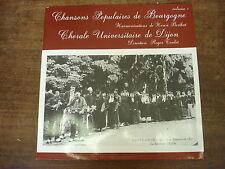 CHANSONS POPULAIRES DE BOURGOGNE- Chorale universitaire de Dijon- LP