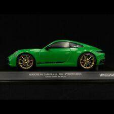Porsche 911 Carrera 4s 4 S 2019 Python Green 1/18 MINICHAMPS 155067325