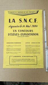 E855/ Plakatsammlung aus Frankreich SNCF Eisenbahnen