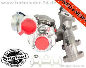 VW Golf Plus 1.9 TDI Turbolader 77kw BKC Turbocharger 751851-5004S NEU NEW