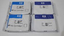 4 X Orig. HP 11 CARTOUCHES HP c4836a HP c4838a Business Jet d'encre 2200 # m360-a3