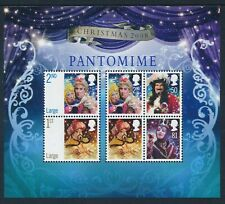 2008 GB CHRISTMAS: PANTOMIME MINI SHEET FINE MINT MNH SG MS2882