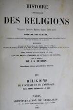 Histoire universelle des religions, théogonies, fourberies , 1845