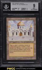 1993 Magic The Gathering MTG Arabian Nights Library Of Alexandria U3 L BGS 9 MT