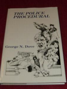The Police Procedural by George N. Dove (1982, HC) John Creasey Ed McBain Wilcox