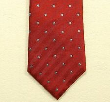 "CHARLES TYRWHITT silk tie made in England width 3.5"" - length 60.25 LONG"