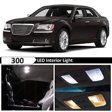 2011-2014 Chrysler 300 300C White Interior LED Lights Package Kit