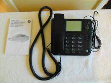 Telephone! - Ge Thomson, Inc. Corded Black Caller Id Model No. 29585Fe1-A
