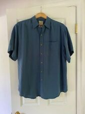 TravelSmith Men's Short Sleeve Shirt Size XL Rayon/Poly
