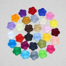30/100Pcs Small flower Embroidered Patch DIY  Iron-On/Sew-On Clothes Applique