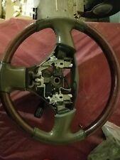 2002-2004 Lexus ES 300 330 OEM wood grain and leather steering wheel
