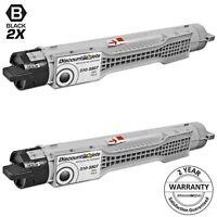 2PK 310-5807 H7028 for Dell 5100 BLACK Toner Cartridge Color Laser 5100 3105807