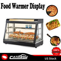 "15"" 27"" 35"" Commercial Food Warmer Court Heat Food pizza Display Warmer Cabinet"