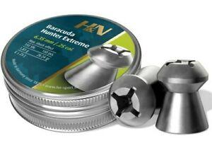 H&N BARACUDA HUNTER EXTREME .25 CAL 28.4 GR HOLLOWPOINT AIRGUN PELLETS (150ct)