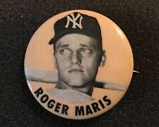 1960's Roger Maris PM10 Pin New York Yankees