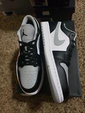 New Air Jordan 1 Low SMOKE GREY  size 10 (553558-039) 💯 Authentic